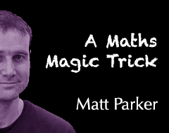 Science School – A Maths Magic Trick