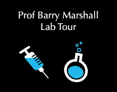 Barry Marshall's Lab Tour