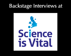 Extended Backstage Interviews at Science is Vital Rally